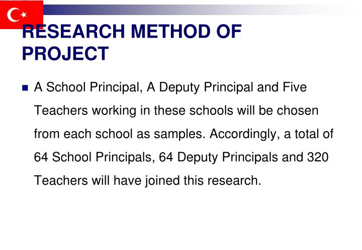 RESEARCH METHOD OF PROJECT