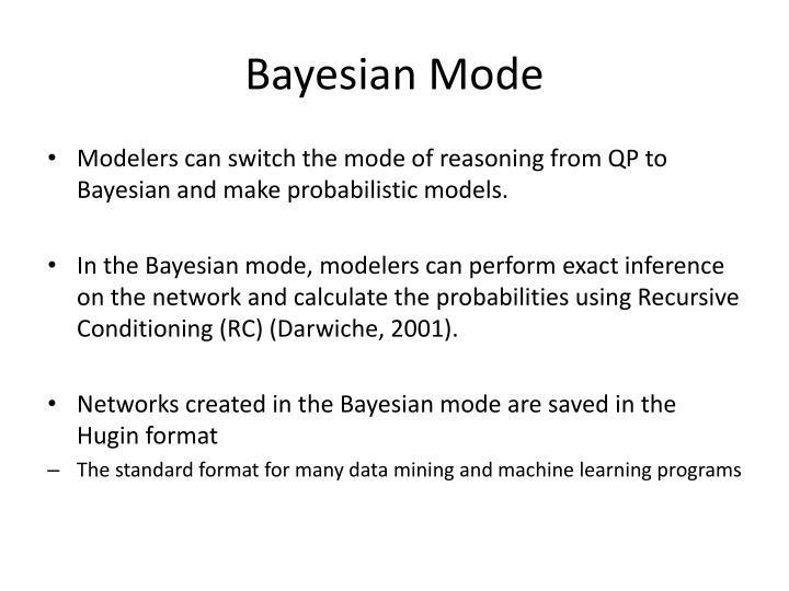 Bayesian Mode