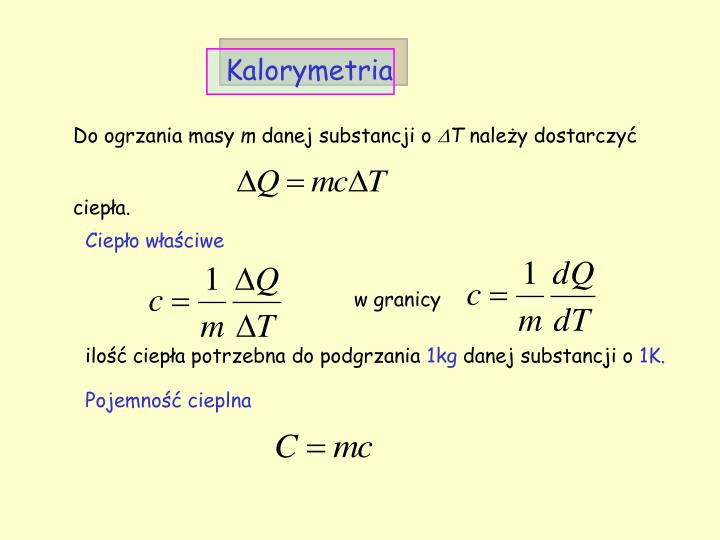 Kalorymetria