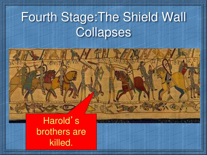 Fourth Stage:The Shield Wall Collapses