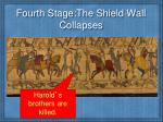 fourth stage the shield wall collapses