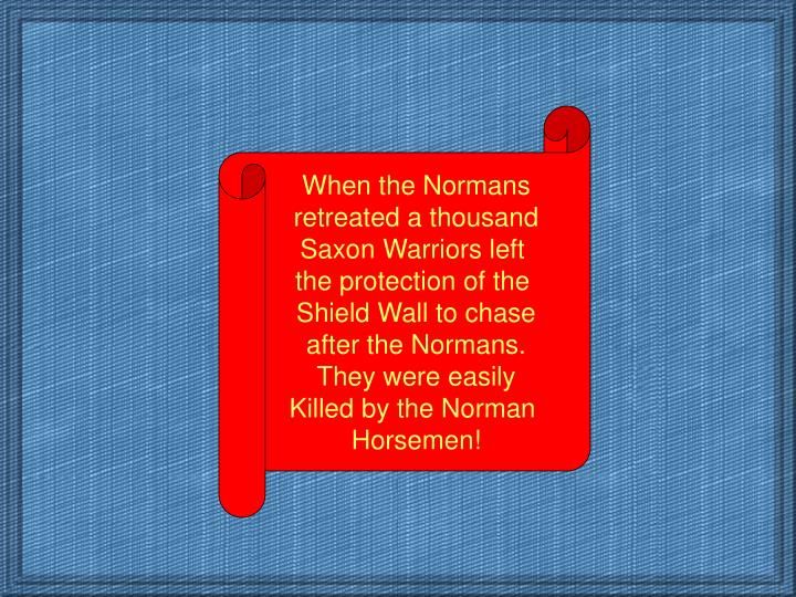 When the Normans