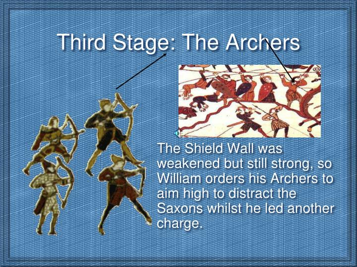 Third Stage: The Archers