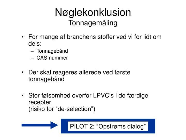 """PILOT 2: """"Opstrøms dialog"""""""