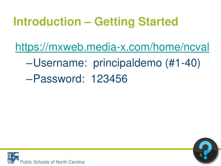 Introduction – Getting Started