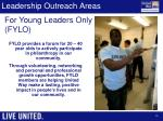leadership outreach areas1