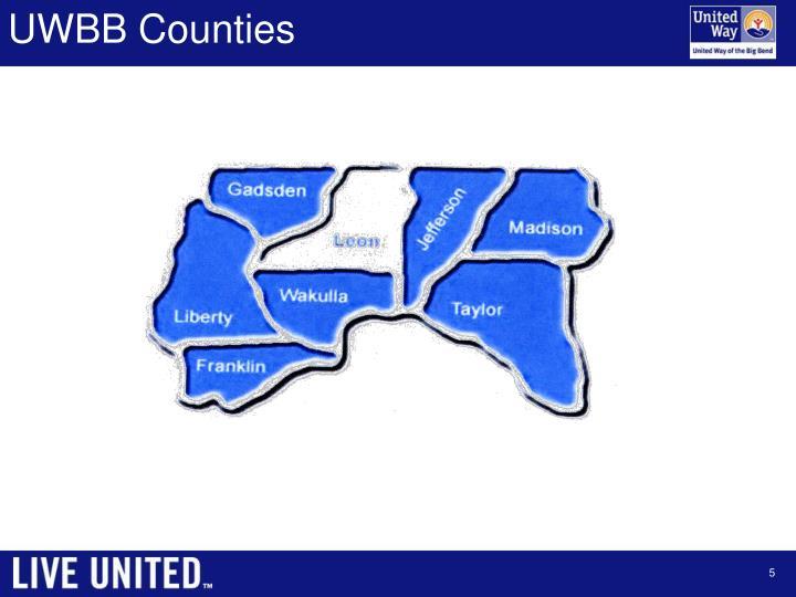 UWBB Counties