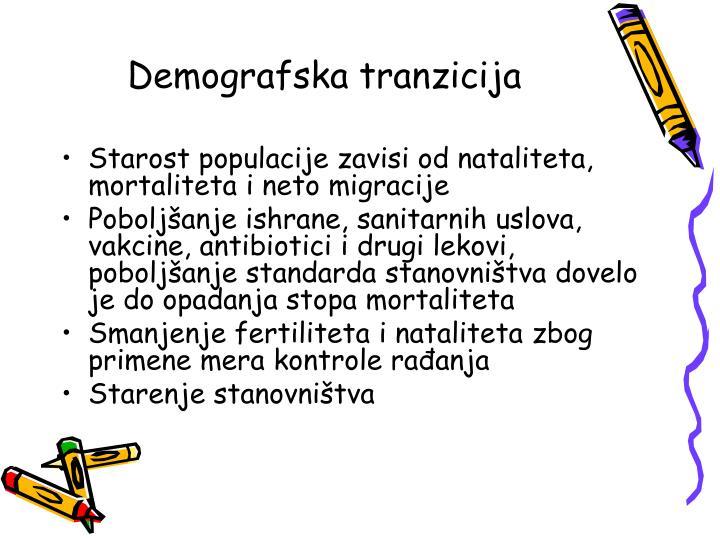 Demografska tranzicija