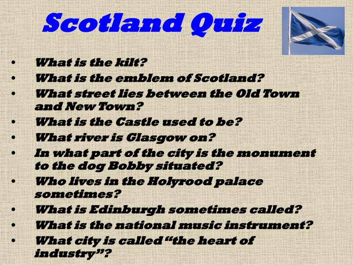 Scotland Quiz