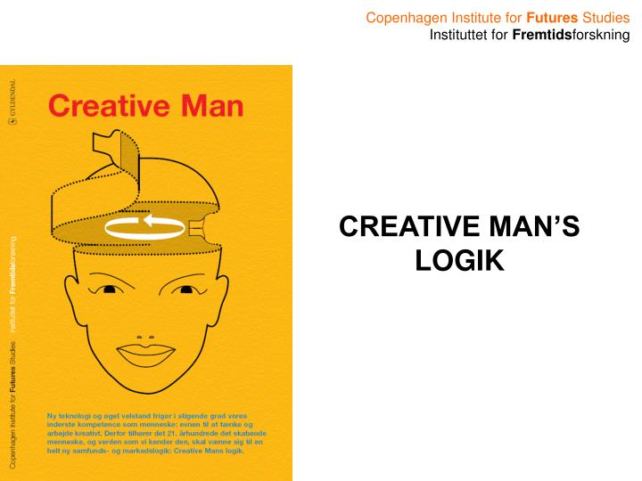 CREATIVE MAN'S