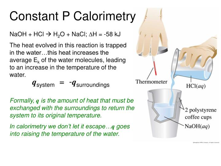 Constant P Calorimetry