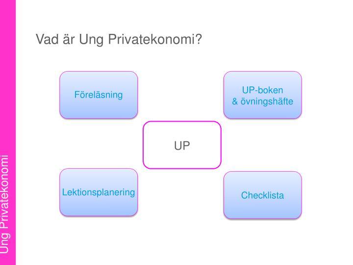 Vad är Ung Privatekonomi?