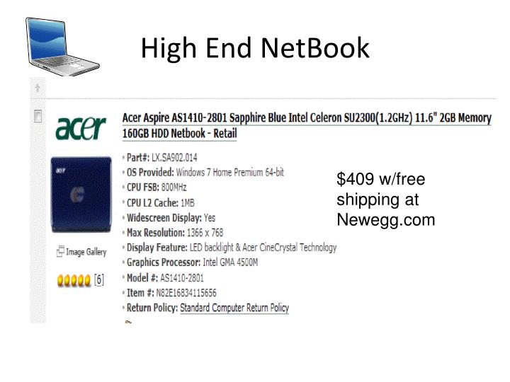 High End NetBook