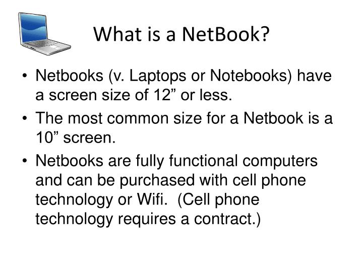 What is a NetBook?