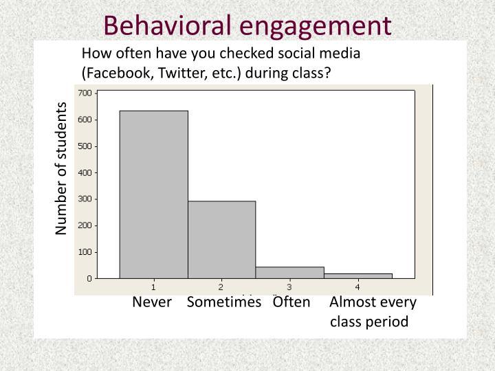 Behavioral engagement