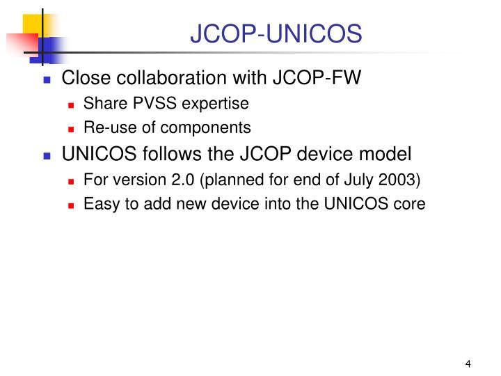 JCOP-UNICOS