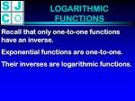 logarithmic functions1