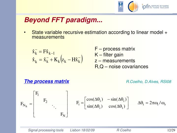 Beyond FFT paradigm...