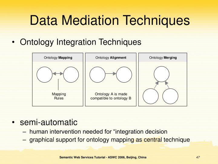 Data Mediation Techniques