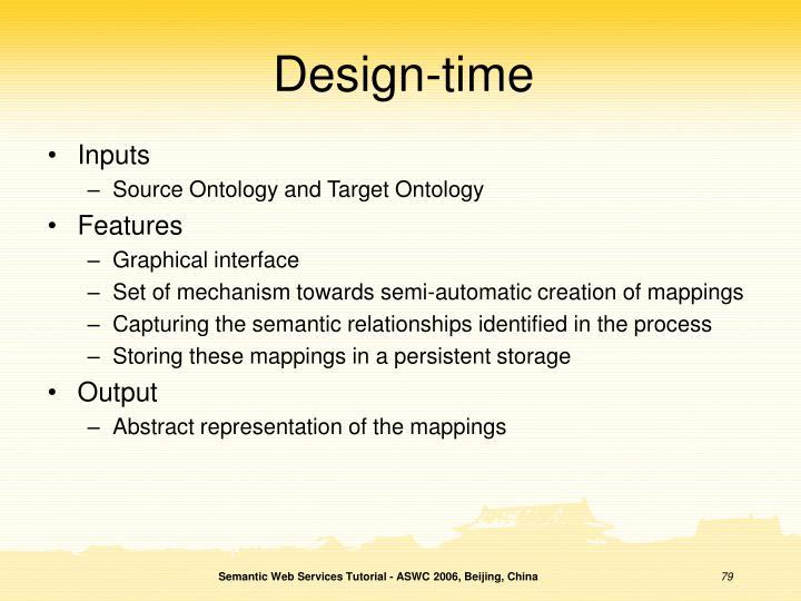 Design-time