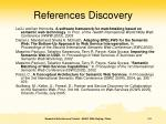 references discovery1