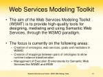 web services modeling toolkit