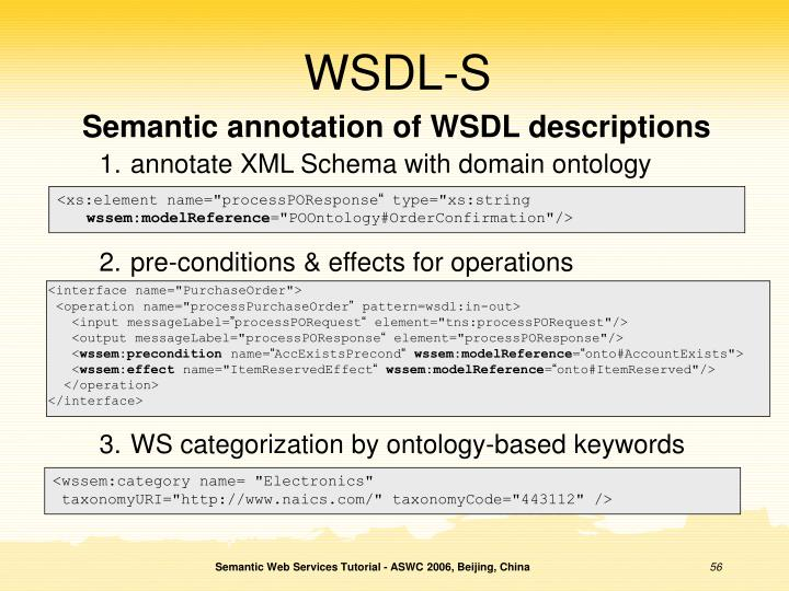 WSDL-S