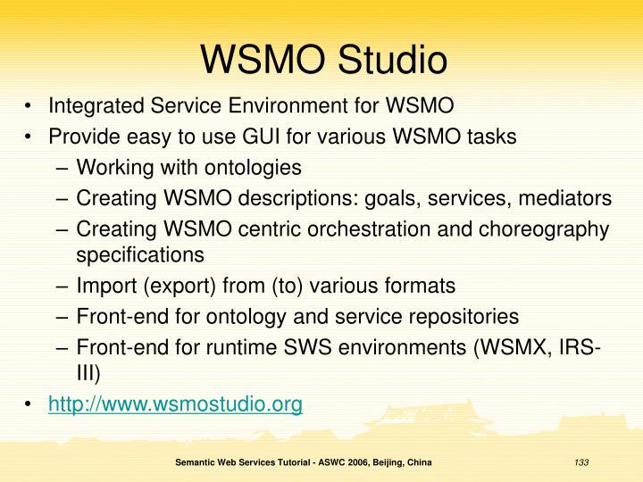 WSMO Studio