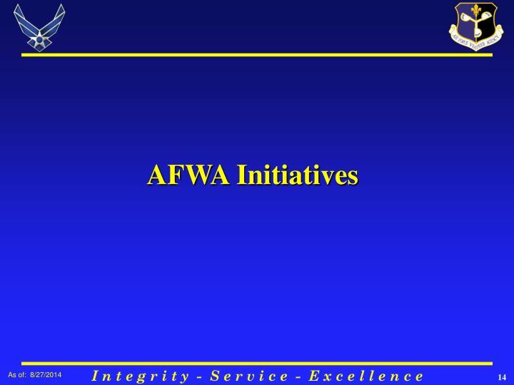 AFWA Initiatives