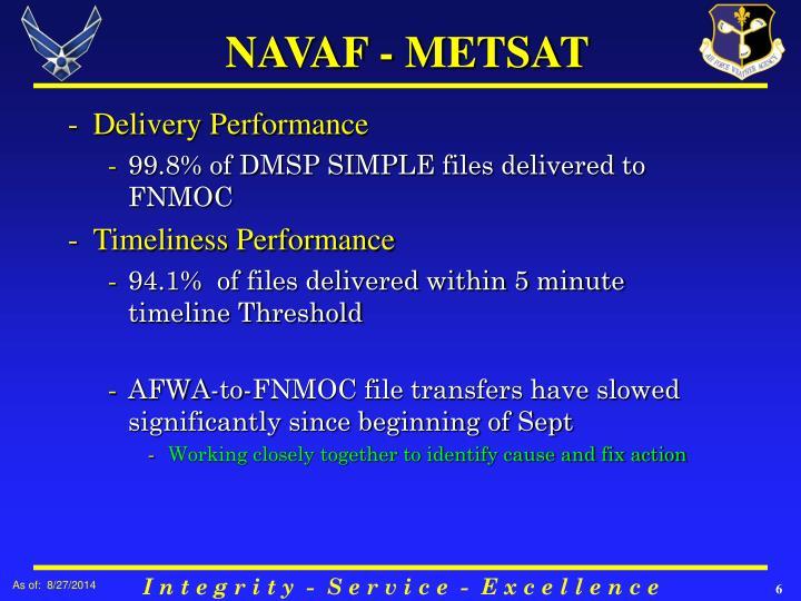 NAVAF - METSAT
