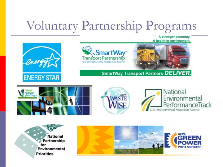 Voluntary Partnership Programs