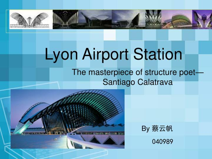 Lyon airport station