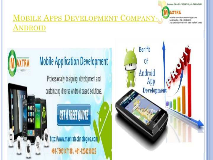 Mobile Apps Development Company- Android