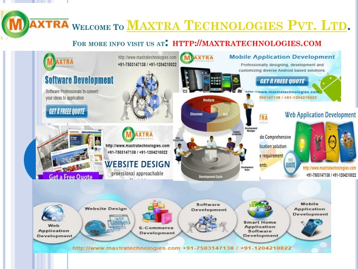 Welcome to maxtra technologies pvt ltd for more info visit us at http maxtratechnologies com