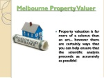 melbourne property valuer