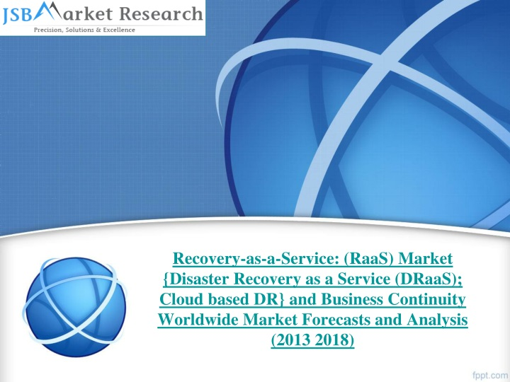 recovery as a service raas market disaster n.