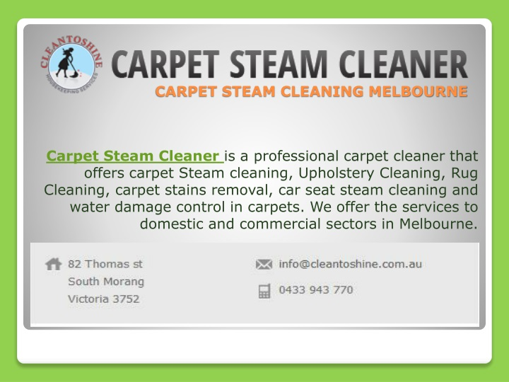carpet steam cleaning melbourne n.
