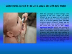 water hardness test kit to live a secure life with safe water