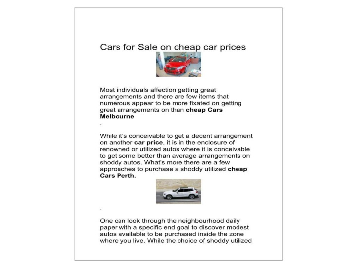 Carsales discount new car car prices