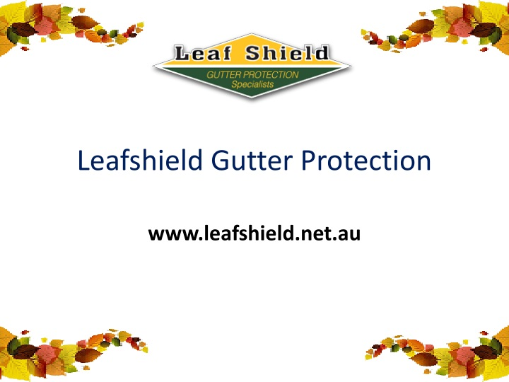 leafshield gutter protection n.
