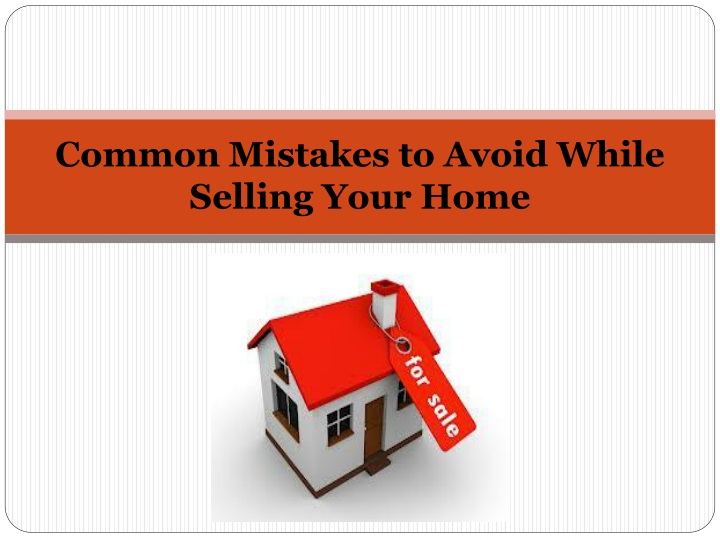 common mistakes to avoid while selling your home n.