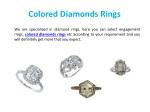 colored diamonds rings
