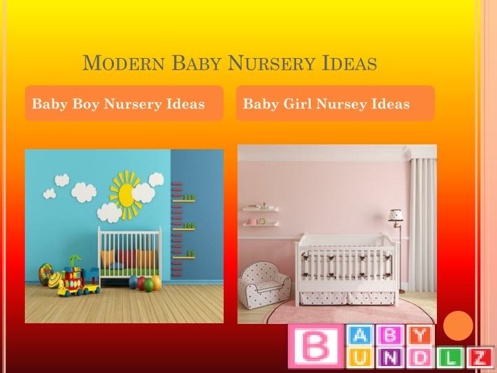 Modern Baby Nursery Ideas