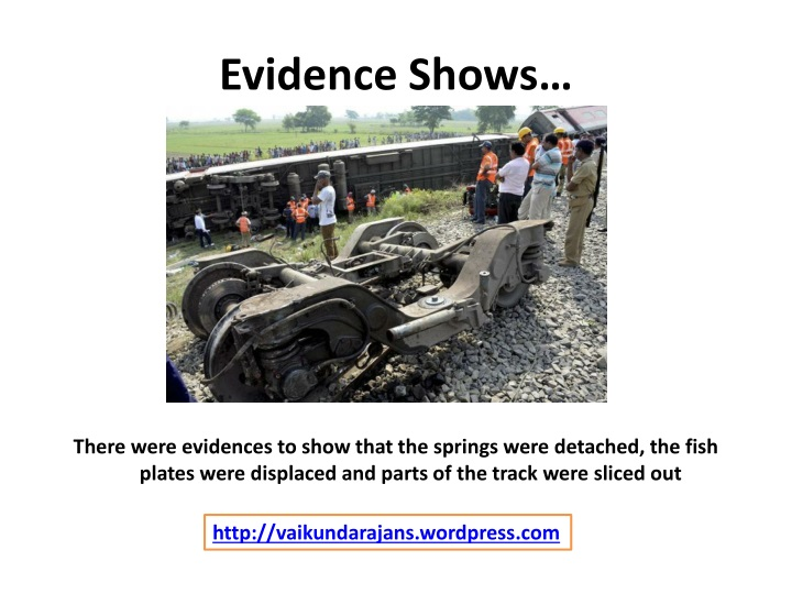 Evidence Shows…