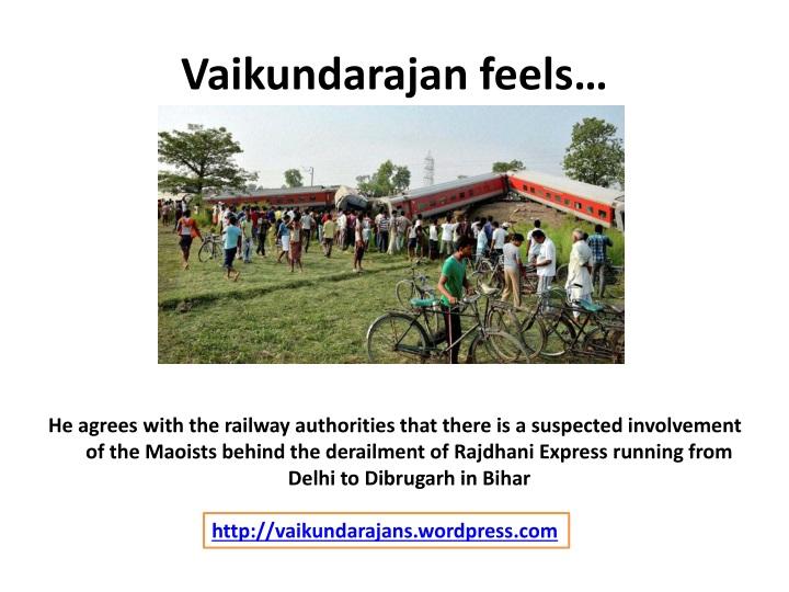 Vaikundarajan feels
