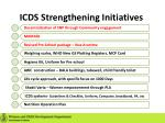 icds strengthening initiatives1