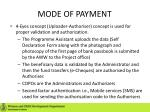 mode of payment1