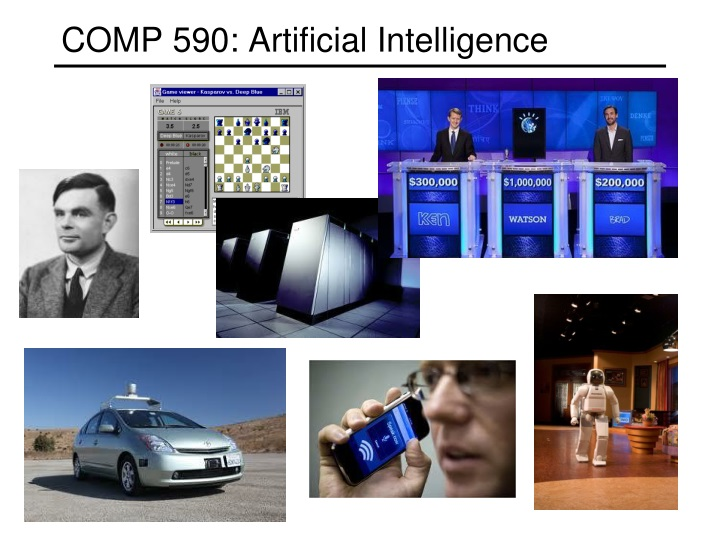 Comp 590 artificial intelligence