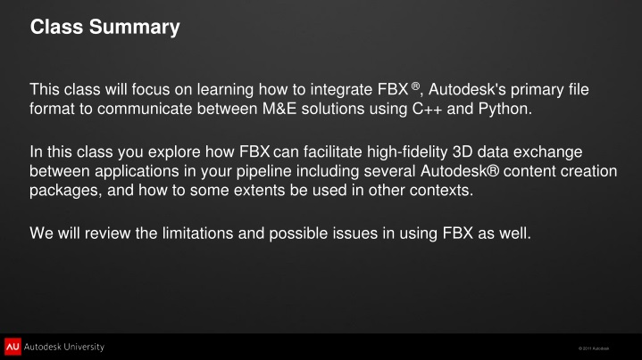 Autodesk Fbx