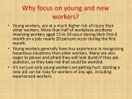 why focus on young and new workers
